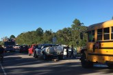 CRASH INVOLVING SCHOOL BUS AND SEVERAL VEHICLES
