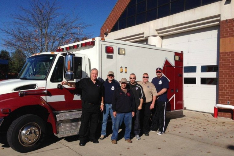 Maryland Firefighters Help EMC's Harvey Recovery Effort