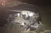 GRANGERLAND FAMILY ESCAPES INJURY AFTER CRASHING INTO WOODS