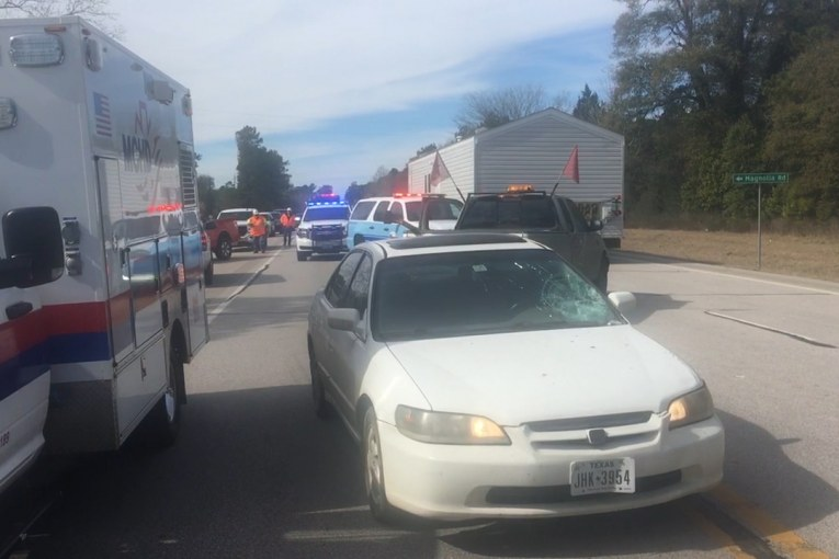 FATAL CRASH CLOSES SH 105 BEFORE IT REOPENS FROM AN EARLIER CRASH