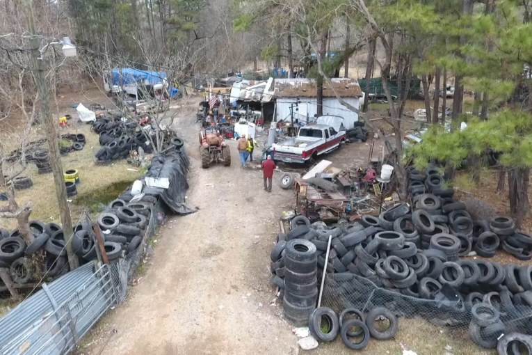 LARGE CHOP SHOP BUSTED IN SAN JACINTO COUNTY