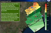 POSSIBLE FLOODING ON THE WAY