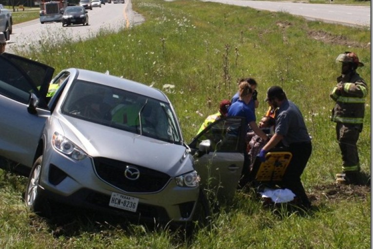 MAJOR ACCIDENT ON US 59 LEAVES 1 DEAD, 2 WITH SERIOUS INJURIES