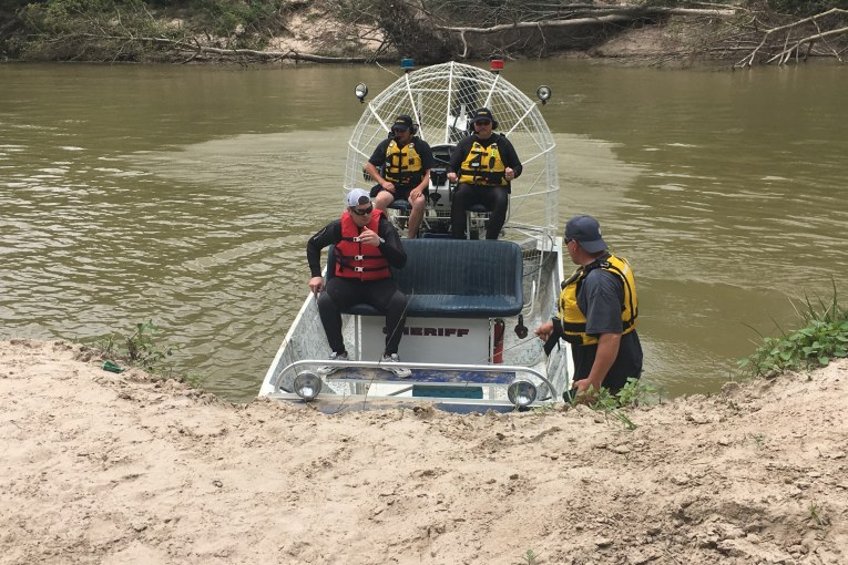 FIRST RESPONDERS TRAIN FOR SWIFT WATER RESCUE