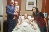 Lt. Governor Dan Patrick visits injured deputy in hospital