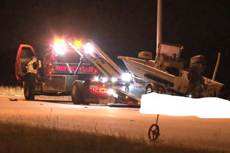 LAST RIDE FOR WRECKER DRIVER KILLED LAST WEEK BY DRUNK DRIVER