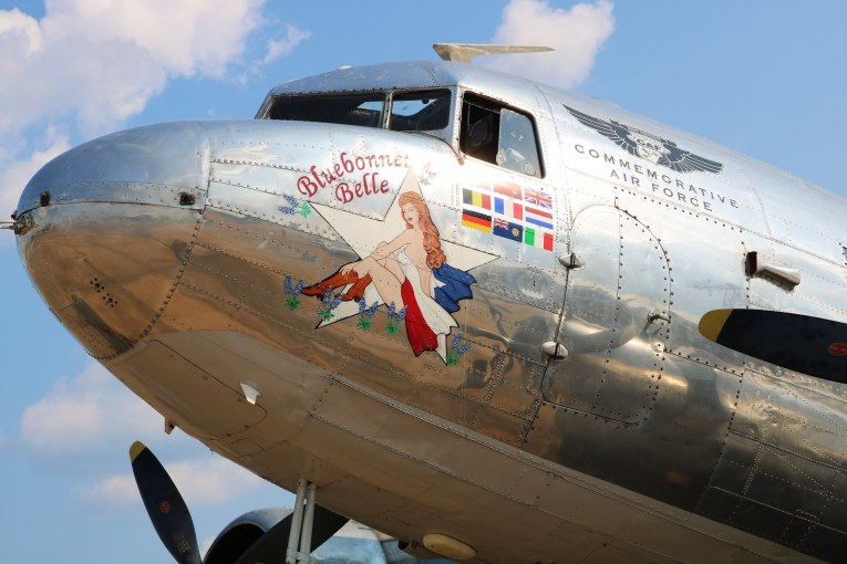 """""""Blue Skies and Tailwinds, Bluebonnet Belle"""" – WWII plane with local connection gone forever"""