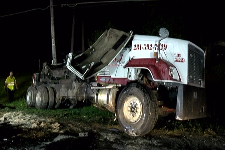 LIBERTY COUNTY MULTIPLE TRUCK CRASHES
