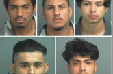 Sheriff's Office Arrest Five Males for Theft of Construction Materials