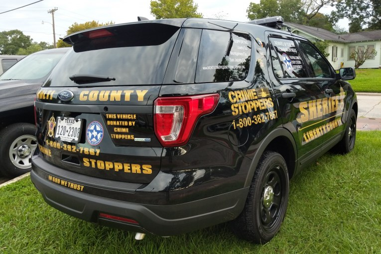 MULTI-COUNTY CRIME STOPPERS DONATES VEHICLE TO LCSO