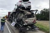 Drivers escape injury after series of collisions snarls I-45 Monday afternoon