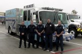 AREA FIRE DEPARTMENTS ENROUTE TO CALIFORNIA
