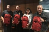 TOMBALL POLICE RECEIVE NEW EMS TRAUMA BAGS