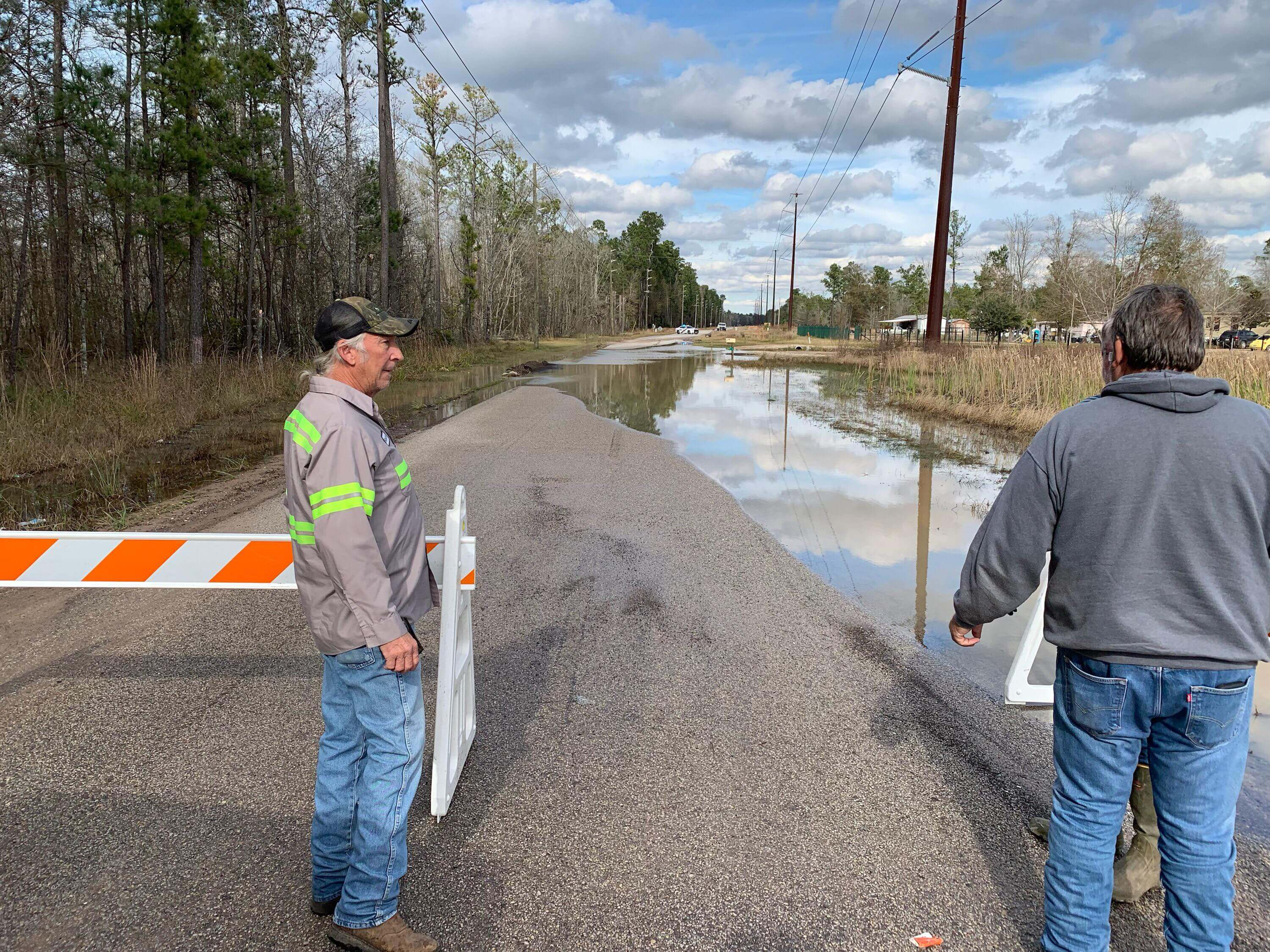 OLD HOUSTON ROAD REMAINS CLOSED  - UPDATE