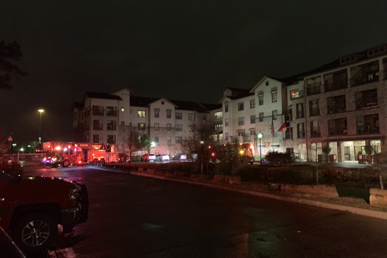 SMOKE SCARE IN KINGWOOD ASSISTED LIVING COMPLEX