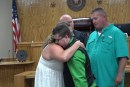 SURPRISE WEDDING GUEST IS HEART RECIPIENT OF GROOM'S  LATE 12-YEAR-OLD SON