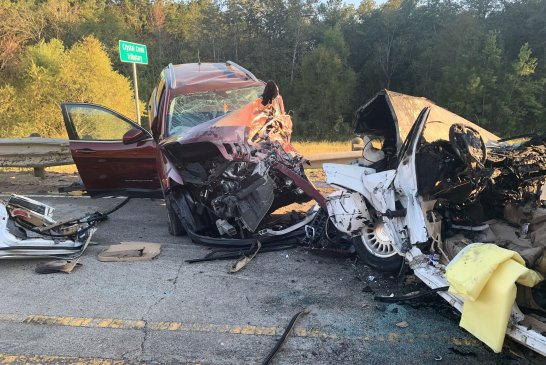 FATAL CRASH AND FIRE ON SEVEN COVES ROAD