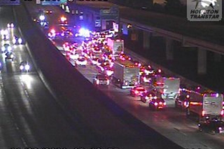 I-45 NORTHBOUND CLOSED SOUTH OF BELTWAY 8