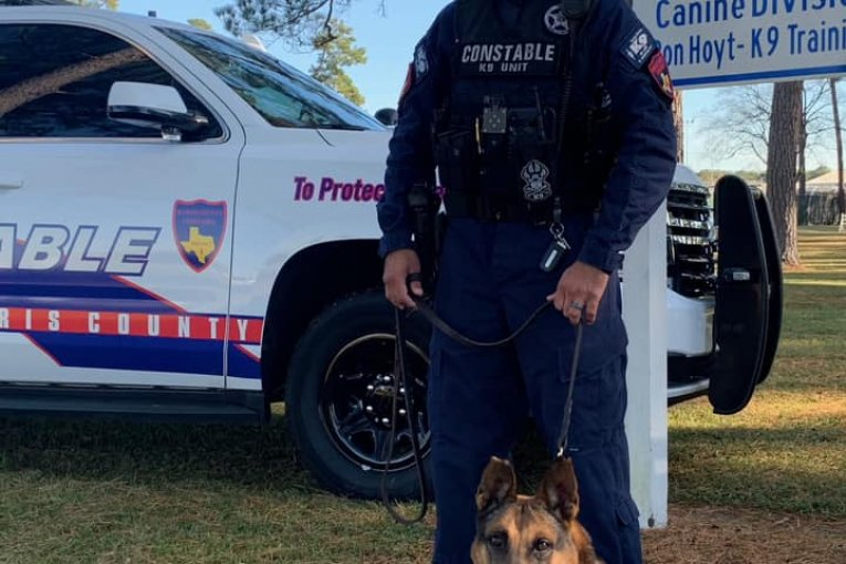CONSTABLE AND HIS K-9 GRADUATE FROM THE K-9 ACADEMY AS A DUAL PURPOSE K-9 / HANDLER TEAM
