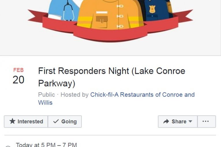 CONROE FIRST RESPONDERS NIGHT