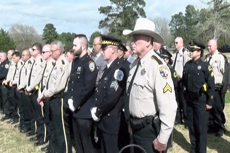 HUNDREDS ATTEND LIBERTY COUNTY DEPUTY WHITTEN'S FUNERAL