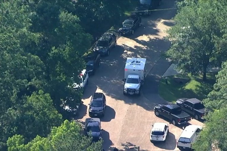 HARRIS COUNTY ROBBERY SUSPECT FOUND DEAD IN WOODLANDS AFTER SWAT SURROUNDED HOME