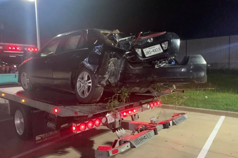 DRIVER CAPTURED AFTER FLEEING AND CRASHING