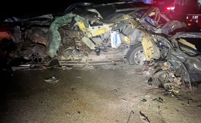 RECKLESS DRIVER KILLED IN SH 242 CRASH