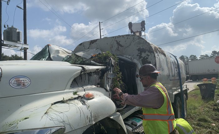 DRIVER LIFEFLIGHTED AFTER EARLY MORNING CRASH