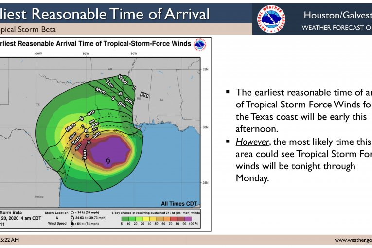 SUNDAY MORNING TROPICAL STORM UPDATE