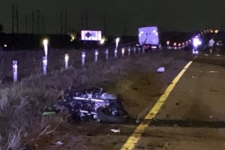 HARRIS COUNTY WORKING WRONG WAY MOTORCYCLE FATAL CRASH ON SH 99