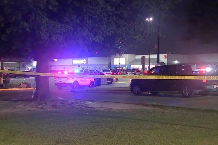 Man suspected in wife's death shot by deputy in north Harris County