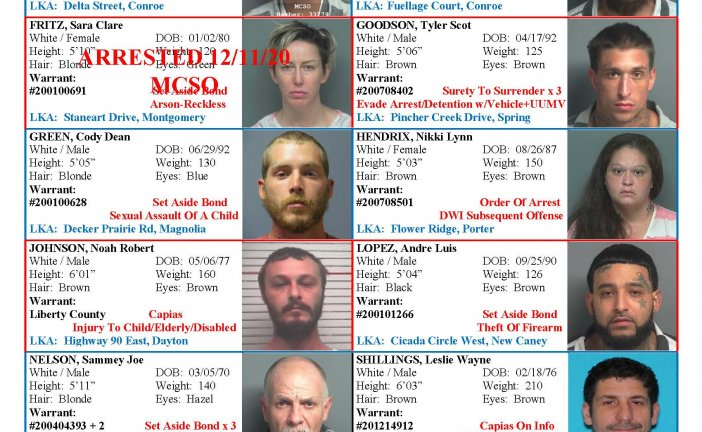 MONTGOMERY COUNTY MOST WANTED