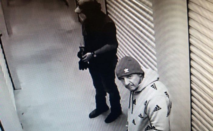 SUSPECTS IDENTIFIED IN STORAGE FACILITY THEFT