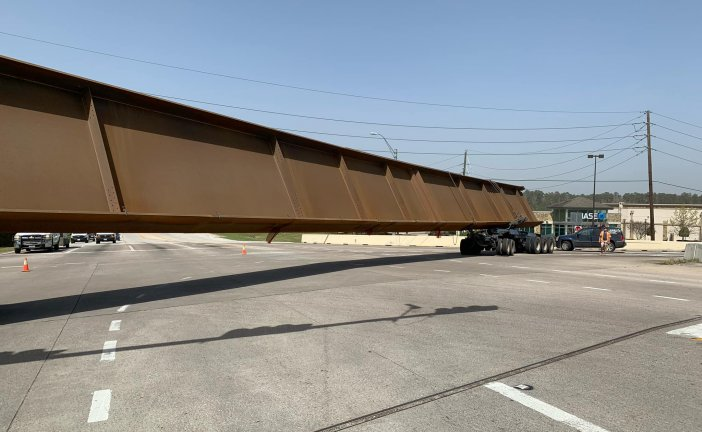 OVERSIZE LOAD CLOSES SOUTHBOUND I-45 FEEDER AND FM 3083 IN BOTH DIRECTIONS CLOSED