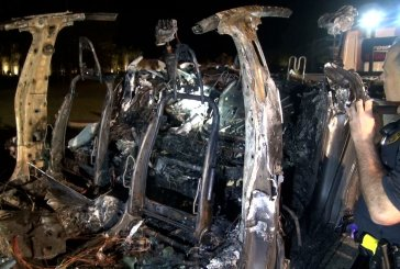 UPDATE-TWO DIE AS DRIVERLESS TESLA HITS TREE IN THE WOODLANDS AND EXPLODES