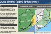 Severe Weather Update for Wednesday April 14th