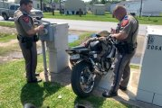 DPS MOTORCYCLE PURSUIT ENDS IN CRASH AND ARREST