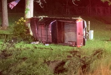 INTOXICATED DRIVER FLIPS VEHICLE WITH PASSENGERS INCLUDING CHILD