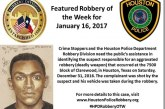 HPD NEEDS HELP LOCATING ROBBERY SUSPECT