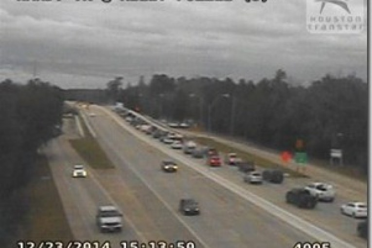 HARDY TOLL ROAD–HEAVY DELAY AFTER CRASH