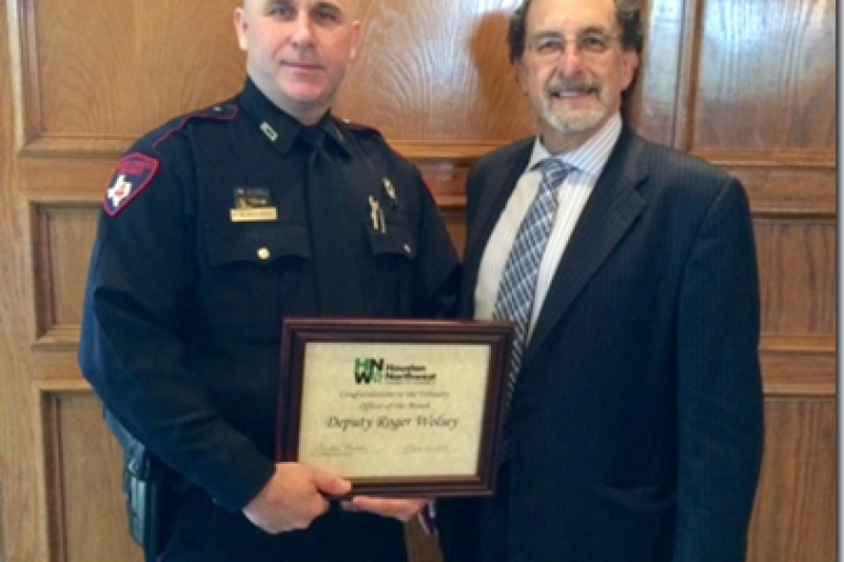 DEPUTY CONSTABLE AWARDED OFFICER OF THE MONTH