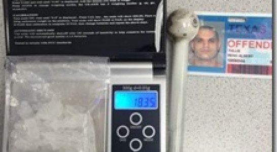 MONTGOMERY COUNTY PRECINCT 4 TAKES 18 GRAMS OF METH OFF THE STREETS