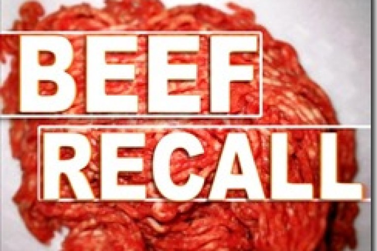91,000 POUNDS OF BEEF RECALLED
