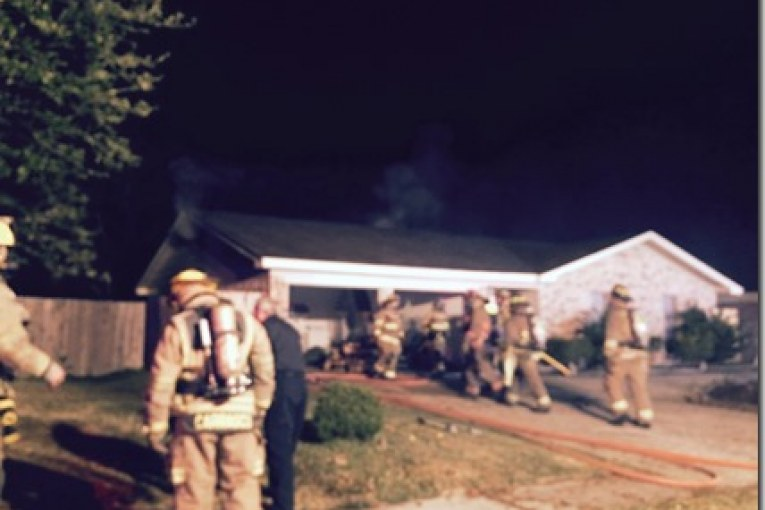 House Fire Near Humble