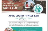 APRIL SOUND FITNESS FAIR