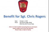 BENEFIT THIS WEEKEND FOR MCSO SGT. CHRIS ROGERS
