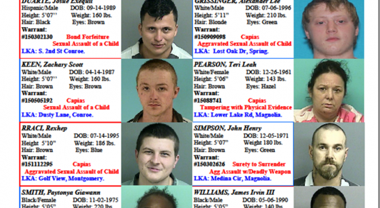 FEATURED FUGITIVES FOR 01/01/2016