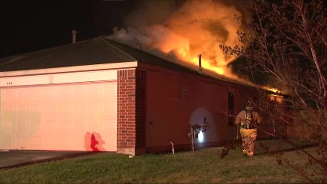 Firefighters Fight Attic Fire Montgomery County Police