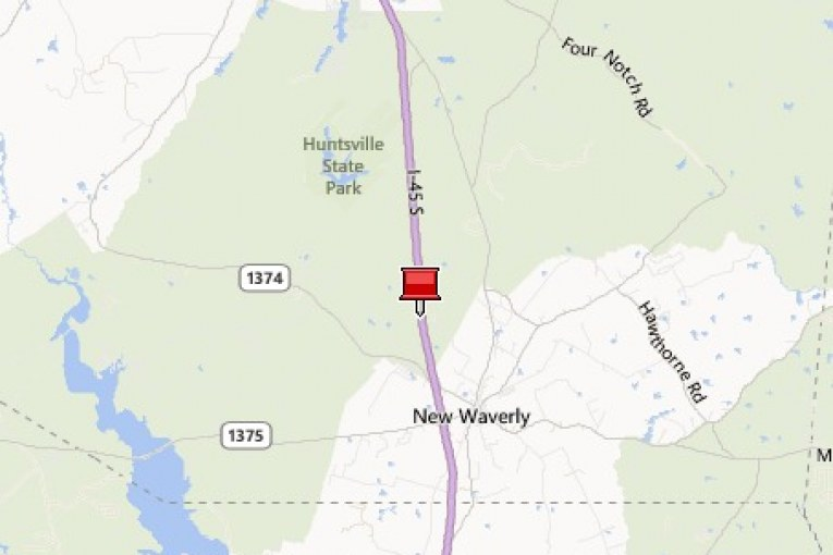 MAJOR ACCIDENT CLOSES INTERSTATE 45